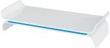 Suport ergonomic Ergo WOW, pentru monitor, ajustabil, Leitz albastru