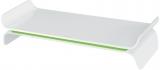 Suport ergonomic Ergo WOW, pentru monitor, ajustabil, Leitz verde