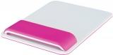 Mouse pad Ergo WOW cu suport ergonomic pentru incheietura mainii, ajustabil, Leitz roz