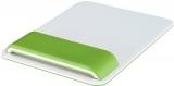 Mouse pad Ergo WOW cu suport ergonomic pentru incheietura mainii, ajustabil, Leitz verde