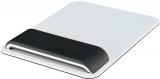 Mouse pad Ergo WOW cu suport ergonomic pentru incheietura mainii, ajustabil, Leitz negru