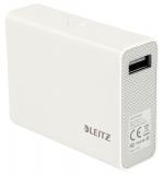 Baterie externa cu USB 6000 mAh alb Complete Leitz