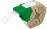 Etichete continue din plastic Leitz Icon 12 mm alb