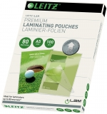 Folie UDT pentru laminare la cald, A5, 80 microni, 100 buc/set Leitz