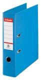 Biblioraft A4 75 mm Standard Esselte No.1 Power cyan