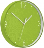 Ceas silentios pentru perete WOW Leitz verde