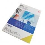Coperta PVC 180 microni A4 albastru 100 buc/set GBC