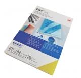 Coperta PVC 180 microni A4 rosu 100 buc/set GBC