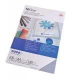 Coperta PVC 180 microni A3 transparent 100 buc/set GBC