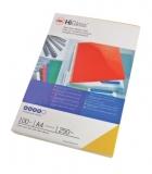 Coperta carton pentru legare 250g A4 negru lucios 100 buc/set GBC