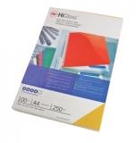 Coperta carton pentru legare 250g A4 rosu lucios 100 buc/set GBC