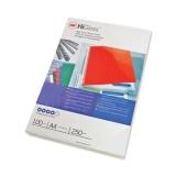 Coperta carton pentru legare 250g A4 alb lucios 100 buc/set GBC