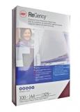 Coperta carton pentru legare cu aspect de piele 325 g negru 100 buc/set ReGency™ GBC