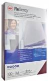Coperta carton ReGency™ pentru legare cu aspect de piele 325 g alb 100 buc/set GBC