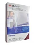 Coperta carton ReGency™ pentru legare cu aspect de piele 325 g albastru 100 buc/set GBC