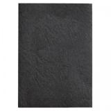 Coperta carton pentru legare cu aspect de piele 250 g A4 negru 100 buc/set GBC