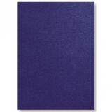 Coperta carton pentru legare cu aspect de piele 250 g A4 albastru 100 buc/set GBC