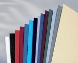 Coperta carton pentru legare cu aspect de piele 250 g A4 ivory 100 buc/set GBC