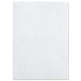 Coperta carton pentru legare cu aspect de piele 250 g A4 alb mat 100 buc/set GBC