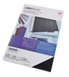 Coperta carton pentru legare cu aspect de panza 250g A4 albastru roial 100 buc/set GBC