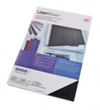 Coperta carton pentru legare cu aspect de panza 250g A4 alb 100 buc/set GBC