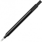 Radiera Mono Zero Black, tip creion, retractabila, cu varf patrat, Tombow