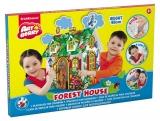 Casute pentru joaca, de colorat, Forrest House, ArtBerry ErichKrause