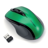 Mouse Wireless Pro Fit, dimensiune medie, verde, Kensington