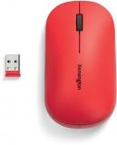 Mouse Dual Wireless SureTrack, dimensiune medie, culoare rosu, Kensington