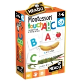Joc Tactil Montessori Abc Headu
