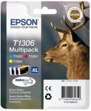 Multipack Cmy C13T13064010 30,3Ml Original Epson Stylus Sx525Wd
