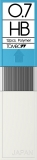 Mine creion mecanic 0.7 HB, 12 buc/set Tombow