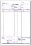 Factura A4 cu TVA 3 exemplare 150 file