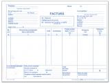 Factura A5 cu TVA 3 exemplare 150 file