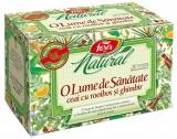 Ceai O lume de sanatate 20 plicuri/cutie Natural Fares