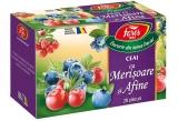 Ceai afine si merisoare 20 plicuri/cutie Aromfruct Fares