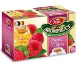 Ceai zmeura si miere 20 plicuri/cutie Aromfruct Fares