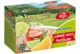 Ceai natural lamai verzi si portocale 20 plicuri/cutie Ceaiurile lumii Fares