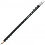 Creion grafit HB cu guma 1112 Faber-Castell