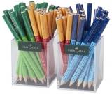Creion grafit Jumbo Grip Two Tone 2 x 36 cut plastic culori asortate Faber-Castell