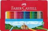Creioane Colorate cutie metal 36 culori/set Faber-Castell