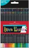 Creioane colorate triunghiulare Black Edition 36 culori/set Faber Castell