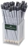 Creion grafit HB cu guma Grip 2001 cutie plastic 72 buc Faber-Castell