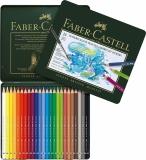 Creioane colorate Acuarela Albrecht Durer 24 culori/set Faber-Castell