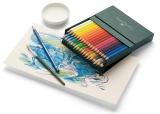 Creioane colorate Acuarela Albrecht Durer, cutie Studio, 36 culori/set Faber-Castell