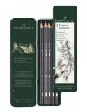 Creion Grafit Aquarelle 5 buc/set Faber-Castell