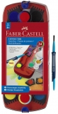 Set acuarele Connector 24 culori/set Faber-Castell
