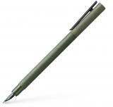 Stilou Neo Slim Aluminium verde, penita M, Faber-Castell