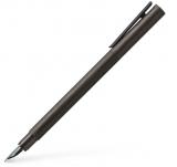 Stilou Neo Slim Aluminium Gun Metal, penita F, Faber-Castell