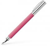 Stilou Ambition OpArt Pink Sunset, penita F, Faber-Castell